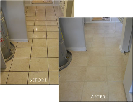 Tile Cleaning & Grout Sealing